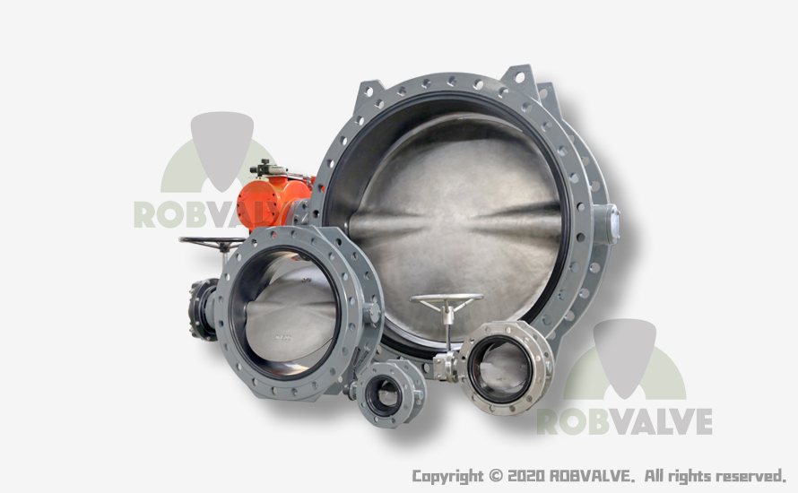 BV13 Concentric Resilent Seat (Vulcunized on Body) Flanged Butterfly Valve